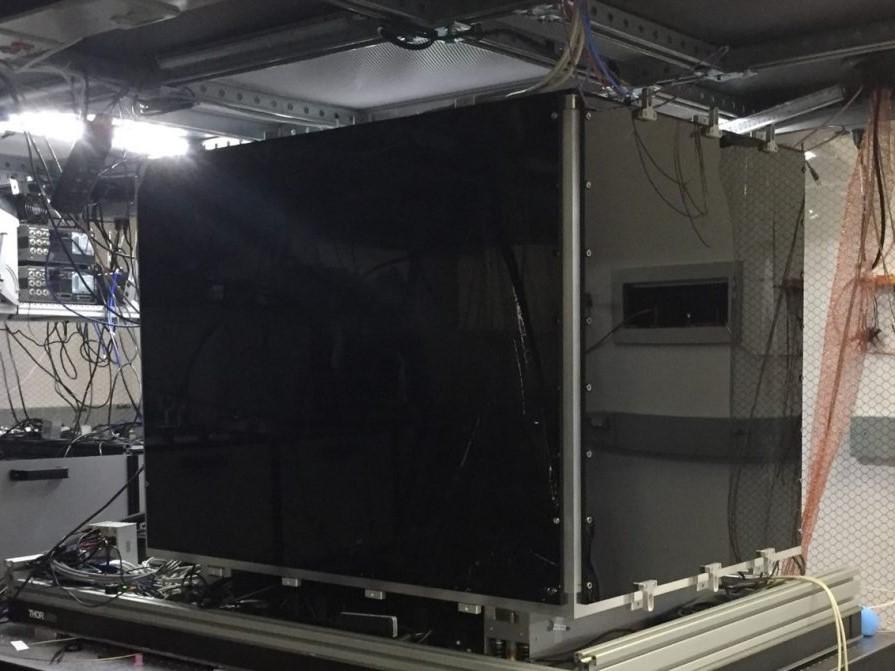 Photo of the EURIQA quantum computer